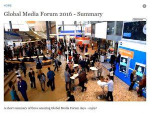 GMF 2016 Programme